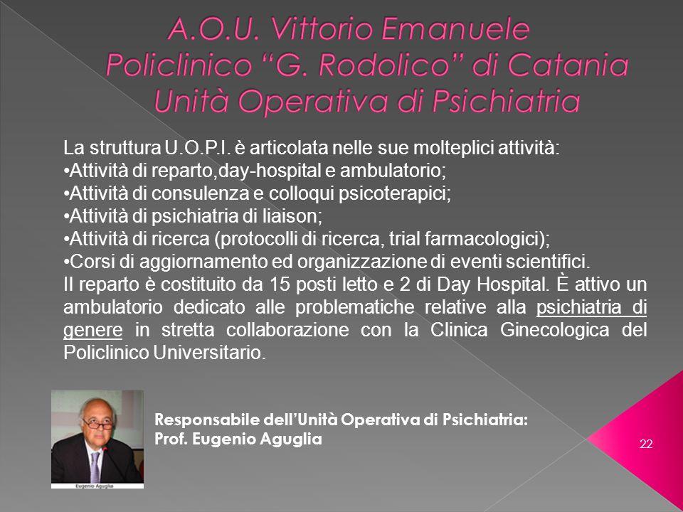 A. O. U. Vittorio Emanuele Policlinico G