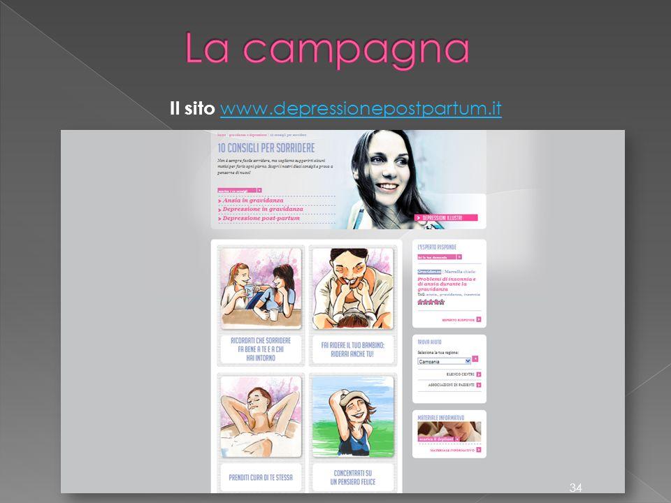 Il sito www.depressionepostpartum.it