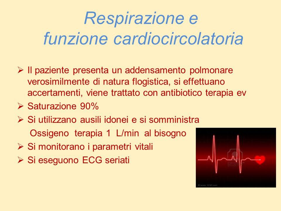 Respirazione e funzione cardiocircolatoria