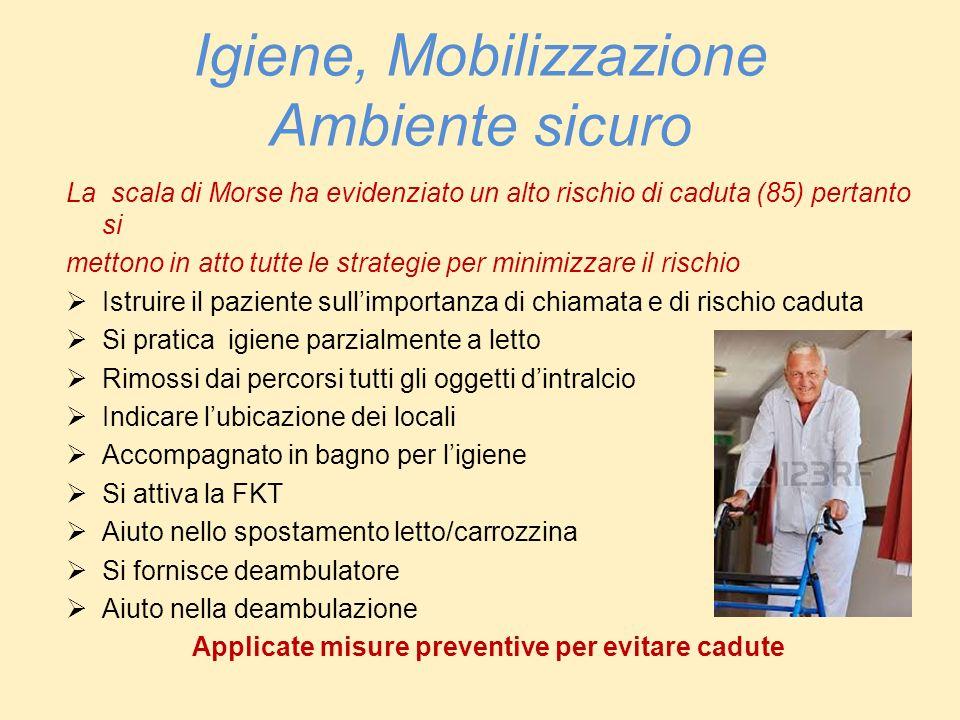 Igiene, Mobilizzazione Ambiente sicuro
