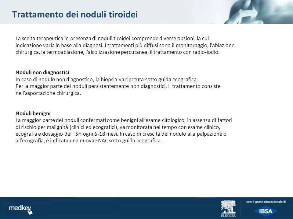 Trattamento dei noduli tiroidei