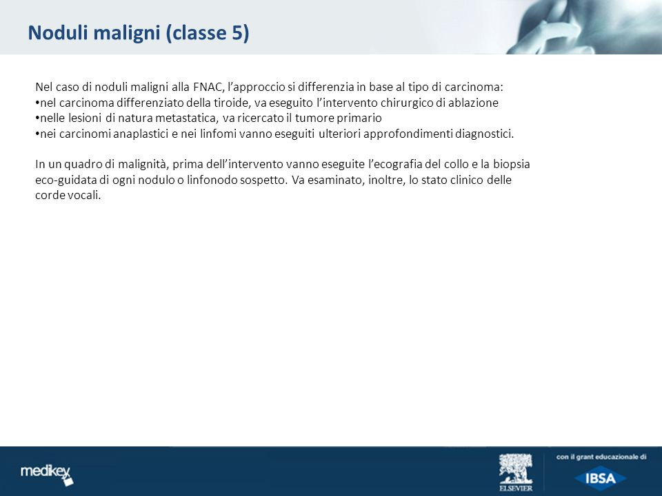 Noduli maligni (classe 5)