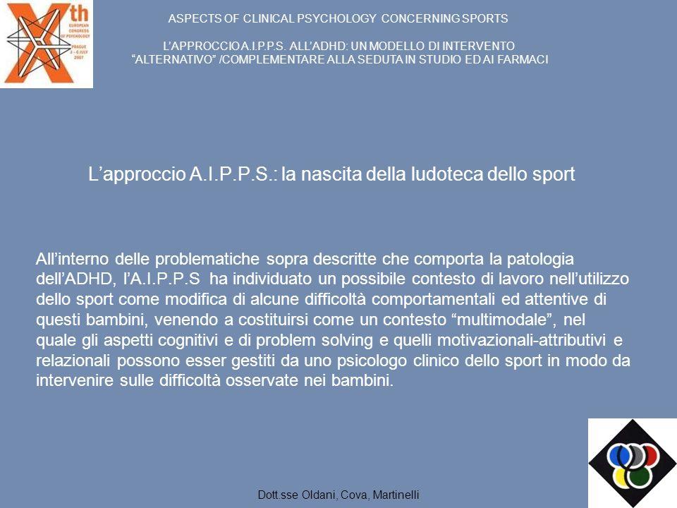 L'approccio A.I.P.P.S.: la nascita della ludoteca dello sport