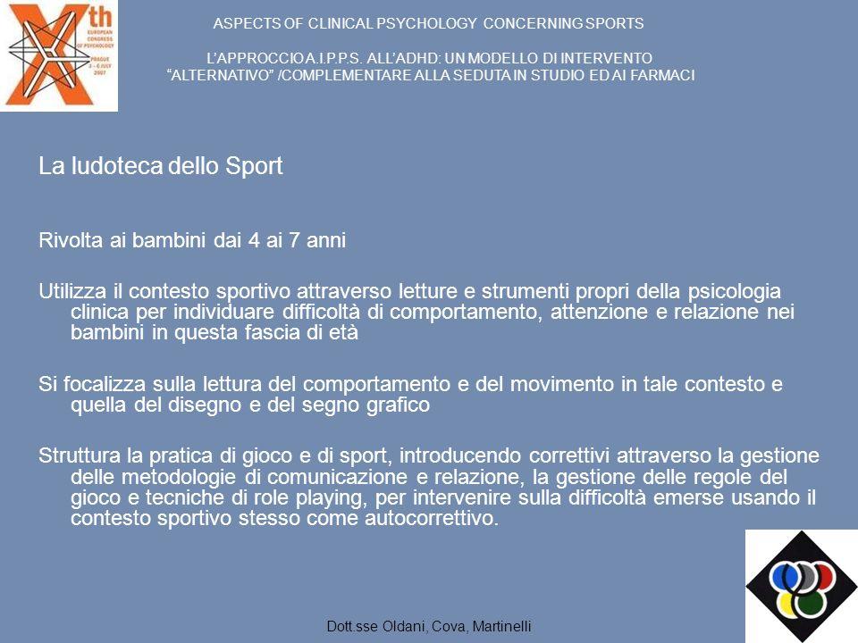 La ludoteca dello Sport