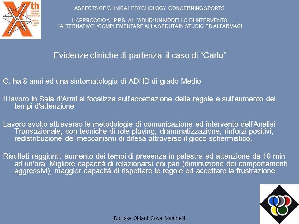 Evidenze cliniche di partenza: il caso di Carlo :