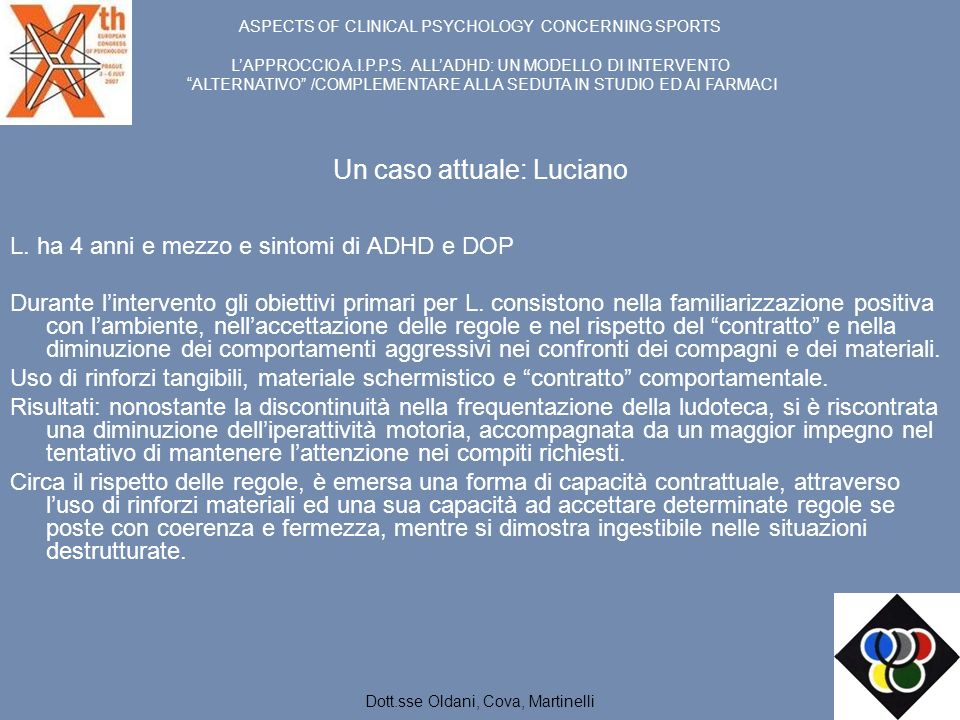 Un caso attuale: Luciano