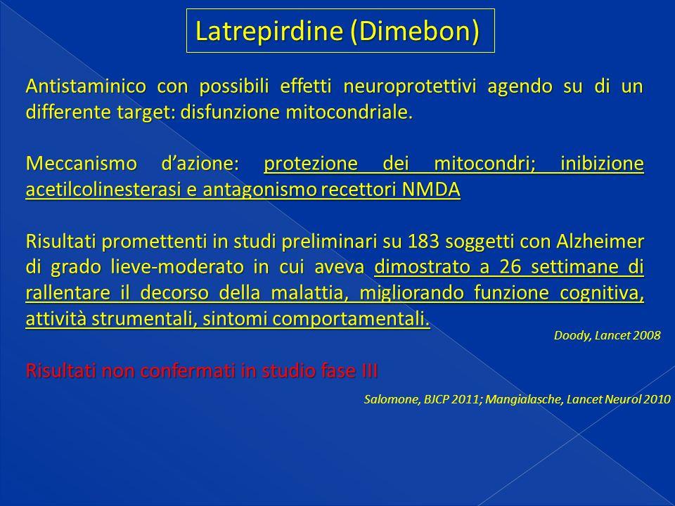 Latrepirdine (Dimebon)