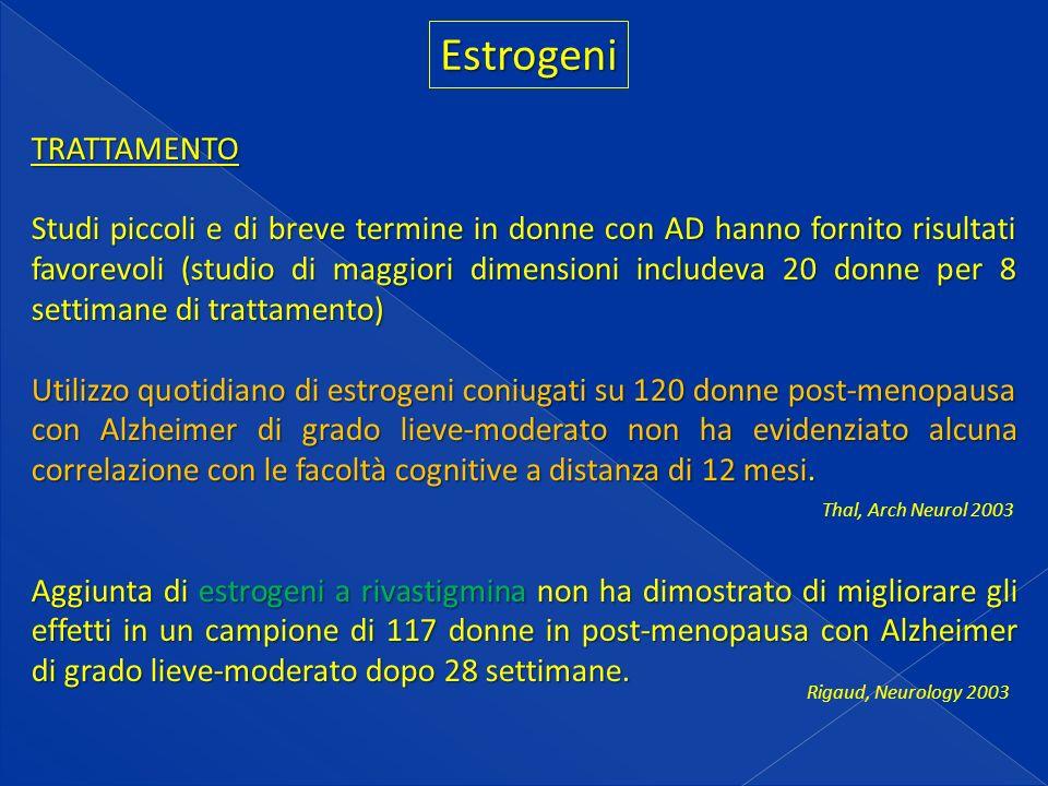 Estrogeni TRATTAMENTO