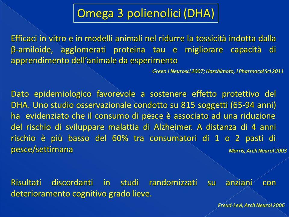 Omega 3 polienolici (DHA)