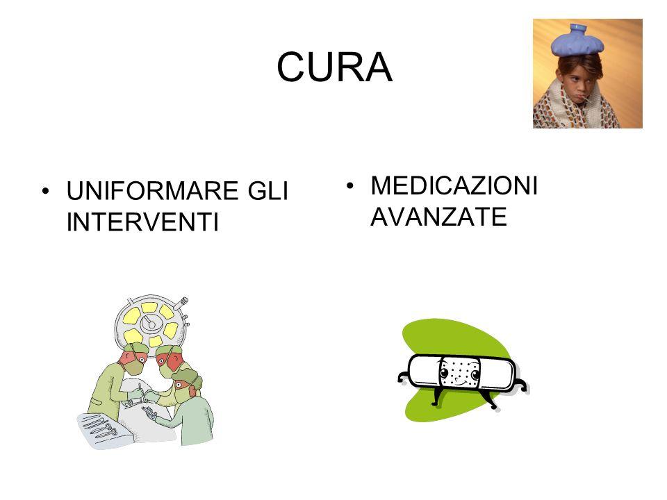 CURA MEDICAZIONI AVANZATE UNIFORMARE GLI INTERVENTI