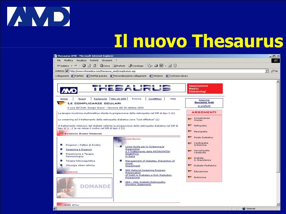 Il nuovo Thesaurus