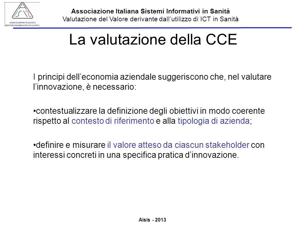 La valutazione della CCE
