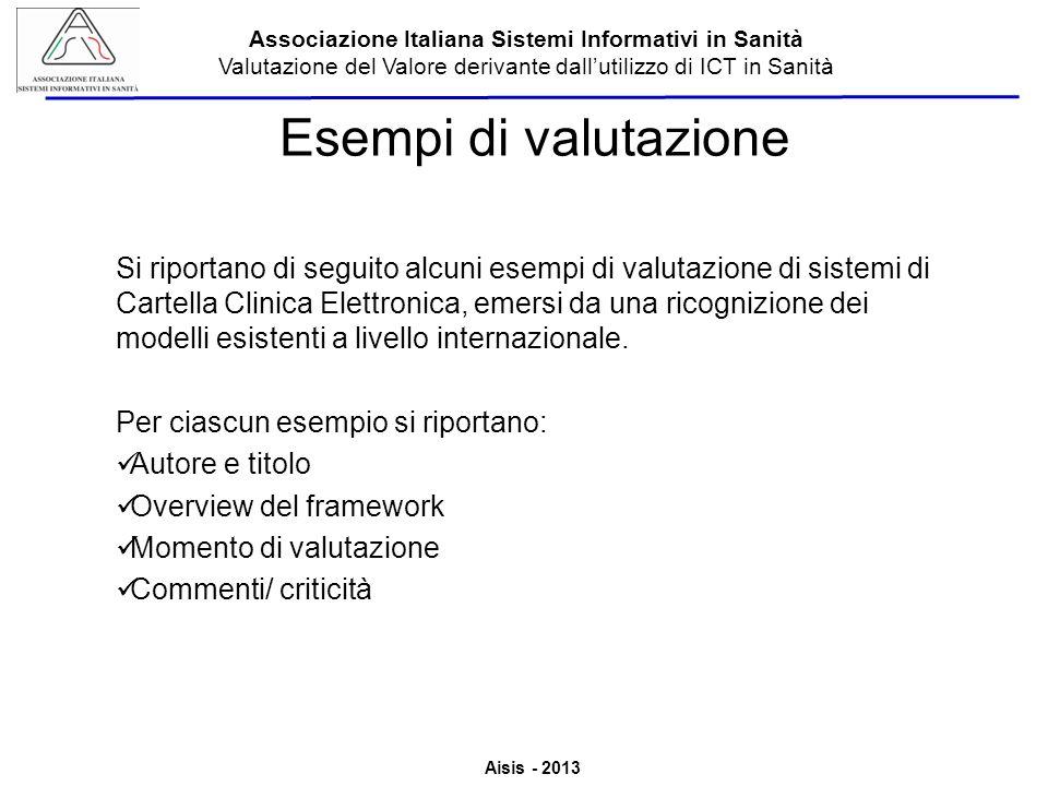 Esempi di valutazione