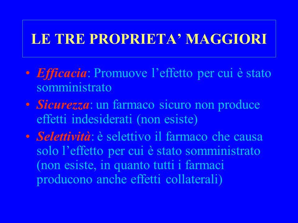 LE TRE PROPRIETA' MAGGIORI