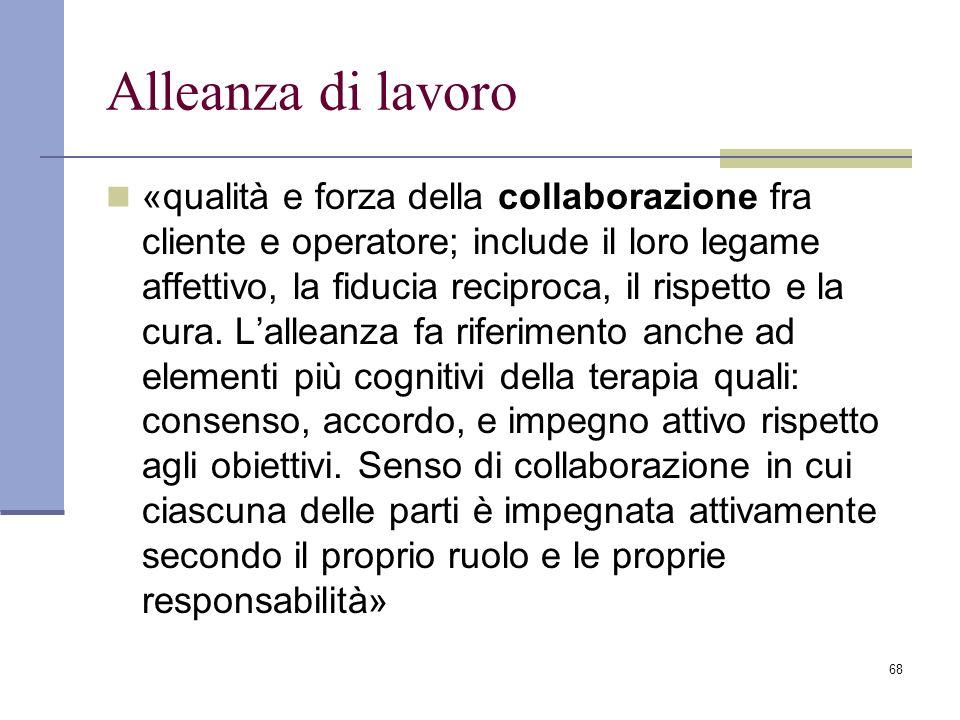 Alleanza di lavoro