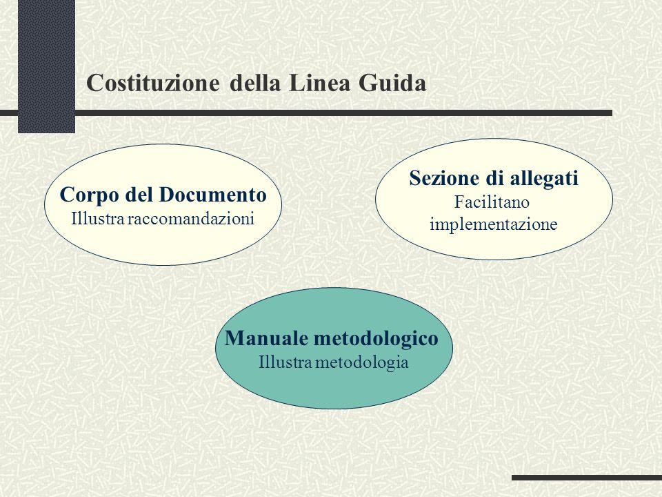 Costituzione della Linea Guida