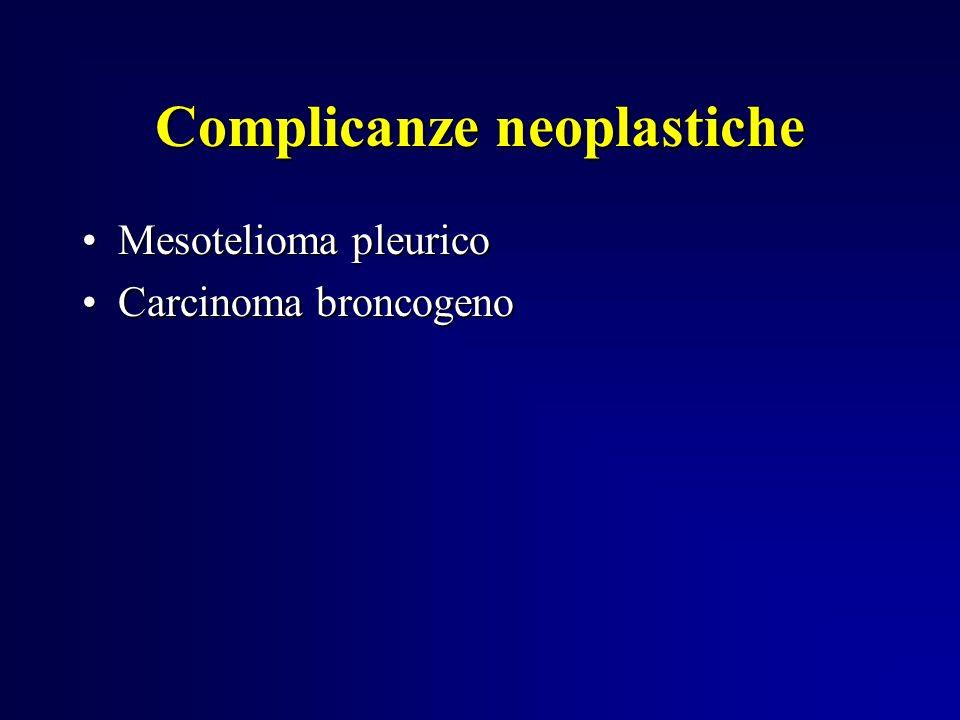 Complicanze neoplastiche