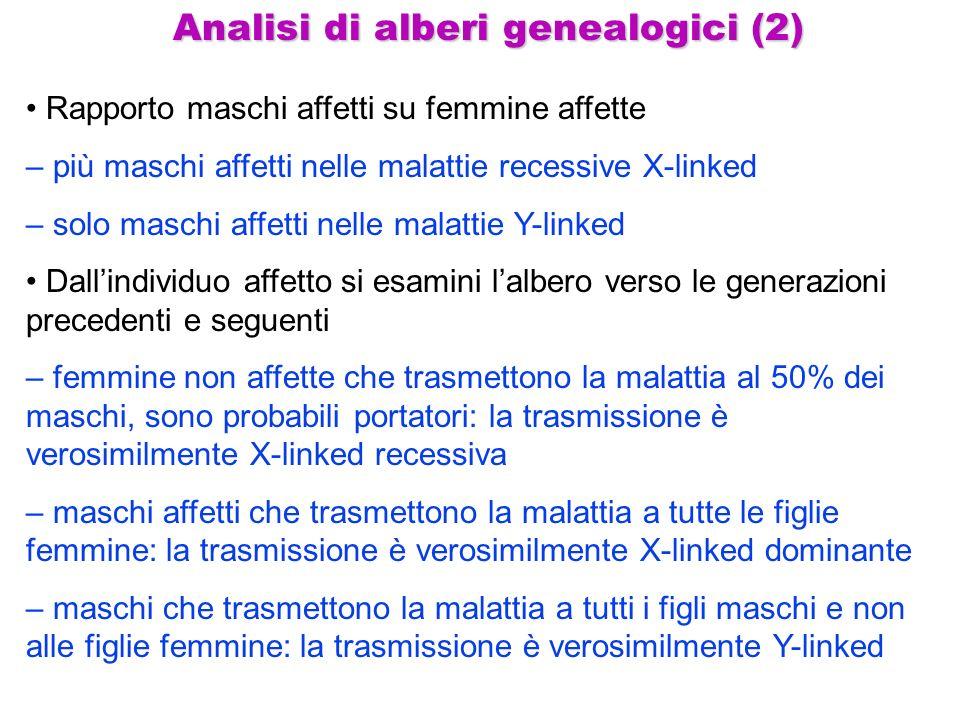 Analisi di alberi genealogici (2)