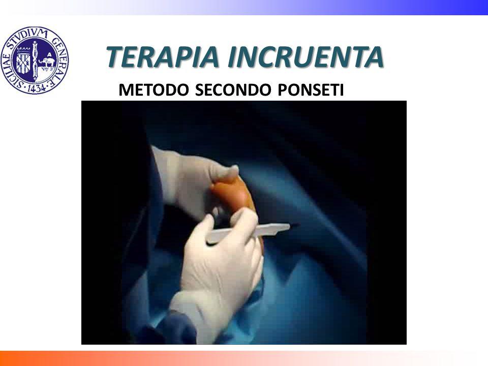 TERAPIA INCRUENTA METODO SECONDO PONSETI