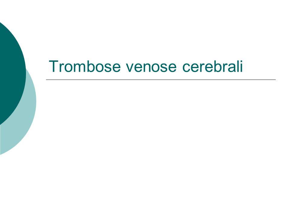 Trombose venose cerebrali