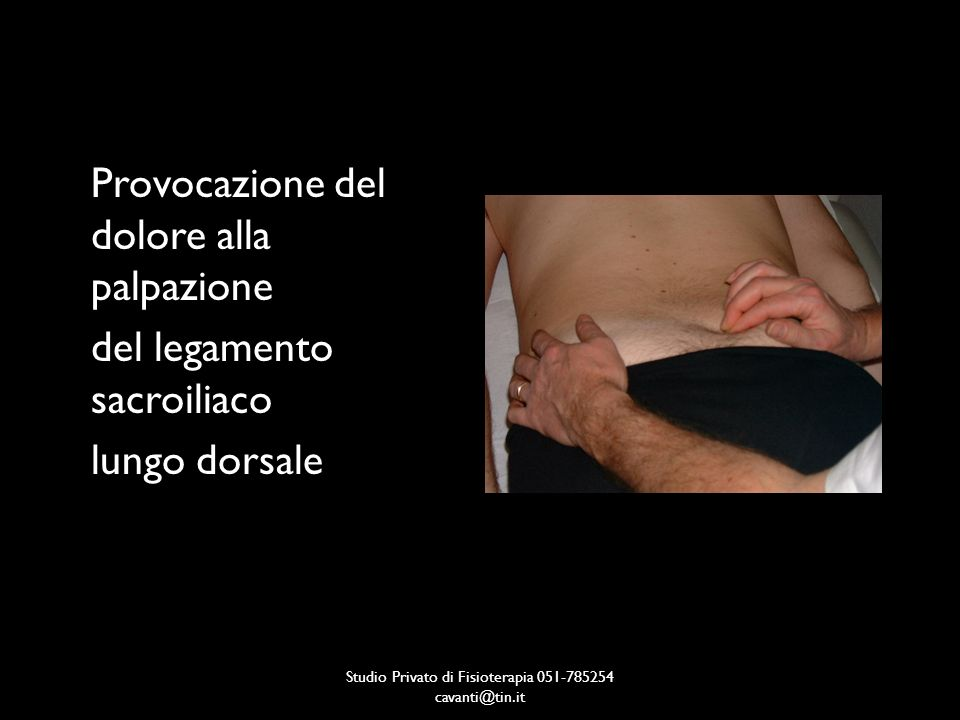 Studio Privato di Fisioterapia 051-785254 cavanti@tin.it