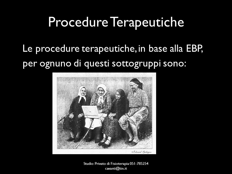 Procedure Terapeutiche