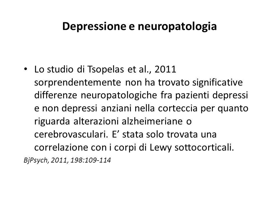 Depressione e neuropatologia
