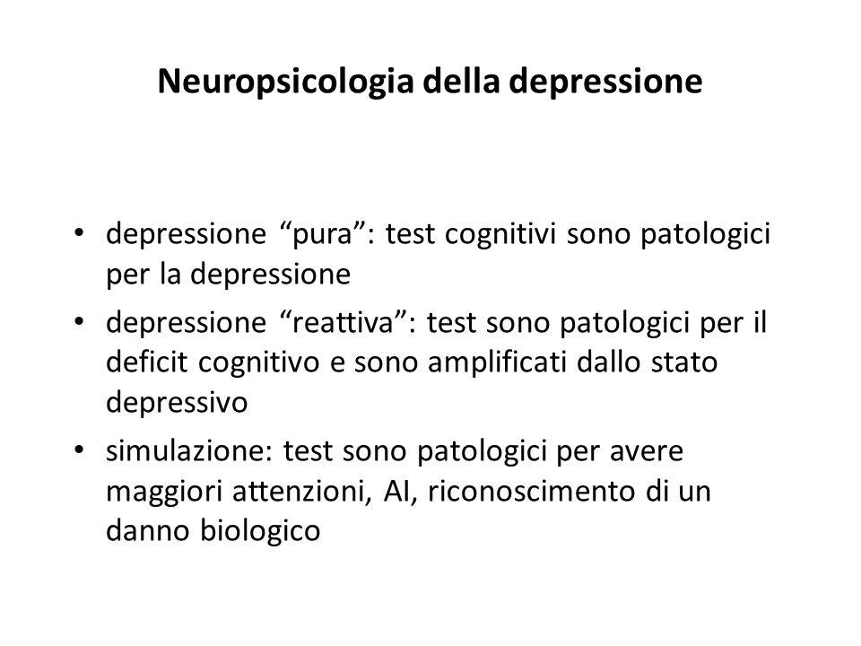Neuropsicologia della depressione