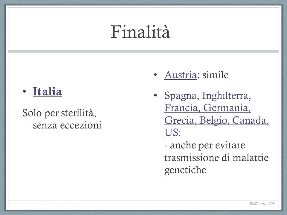 Finalità Italia Austria: simile