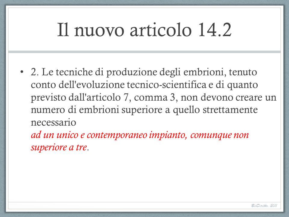 Il nuovo articolo 14.2