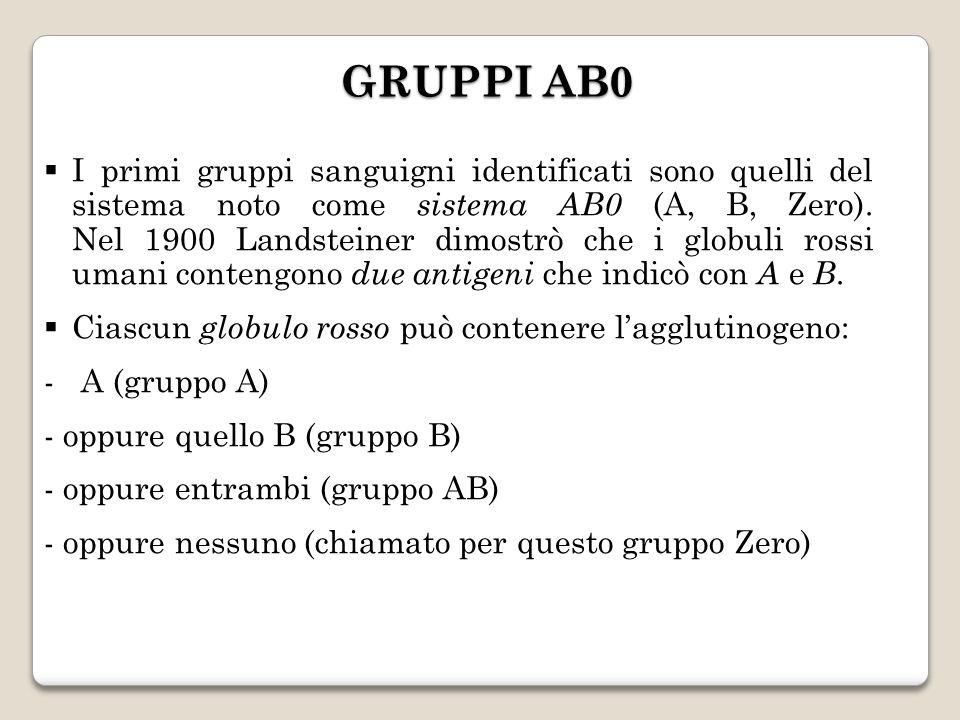 GRUPPI AB0