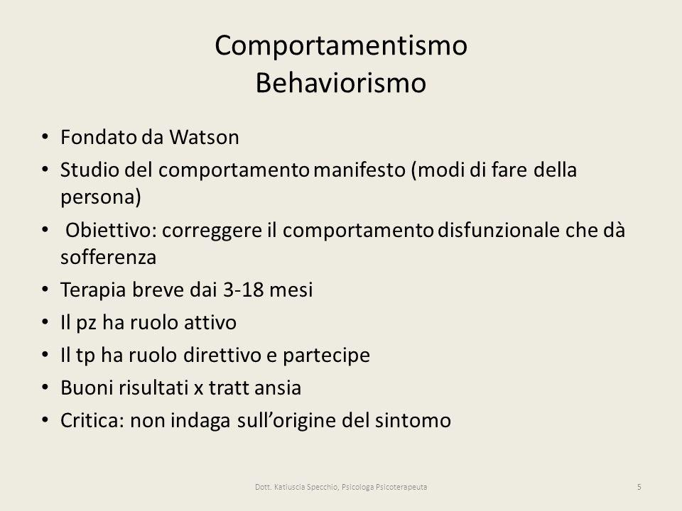 Comportamentismo Behaviorismo