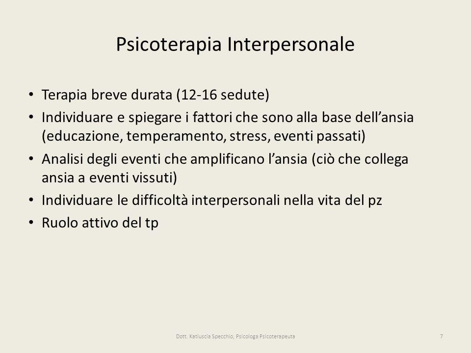 Psicoterapia Interpersonale
