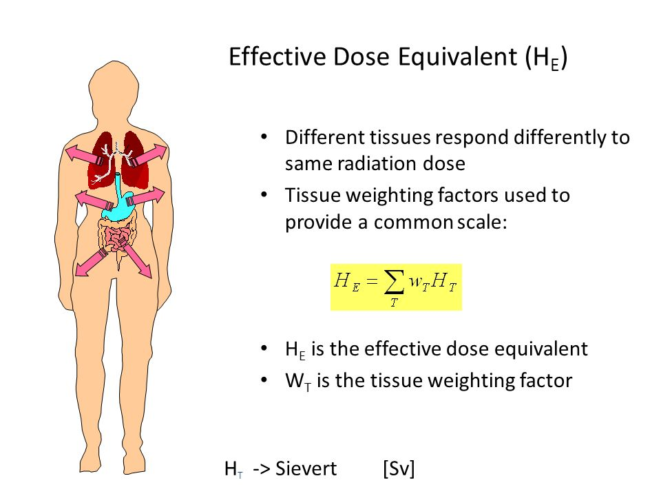 Effective Dose Equivalent (HE)