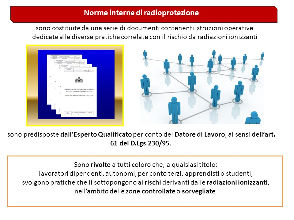Norme interne di radioprotezione