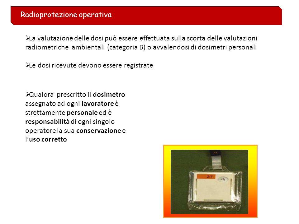Radioprotezione operativa