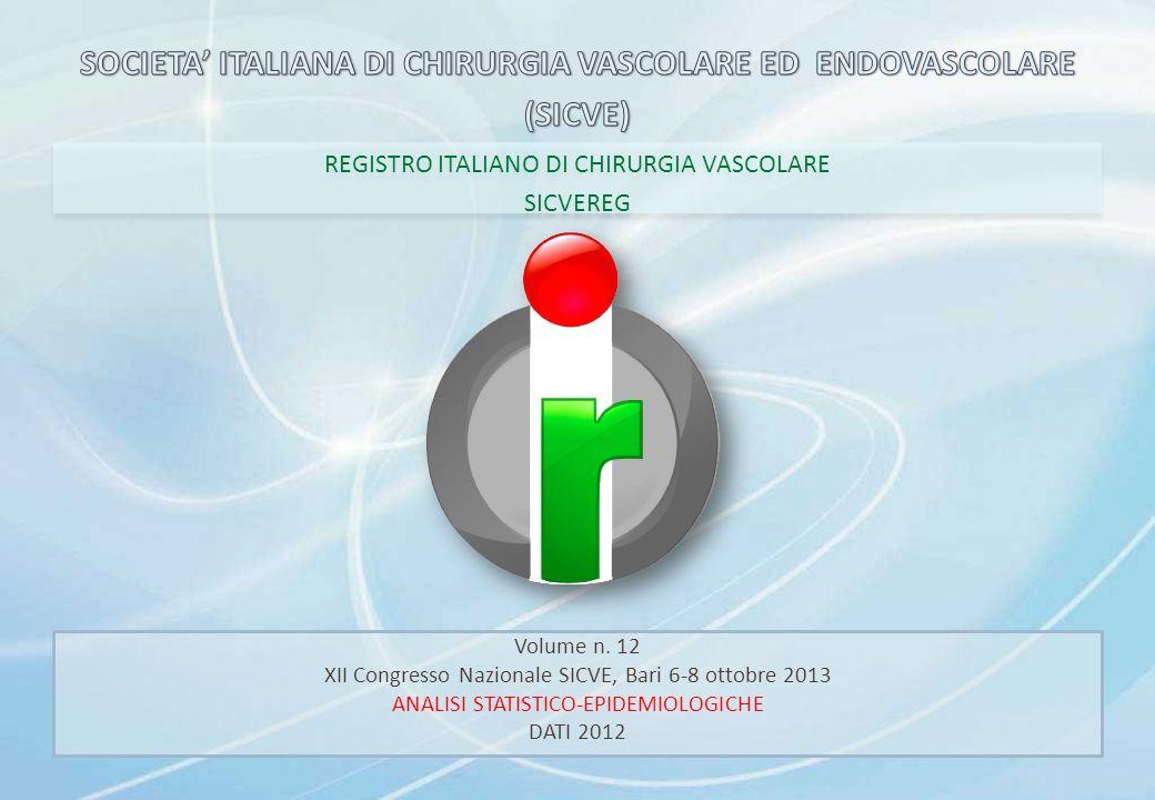 SOCIETA' ITALIANA DI CHIRURGIA VASCOLARE ED ENDOVASCOLARE (SICVE)