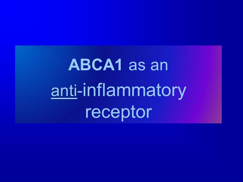 anti-inflammatory receptor