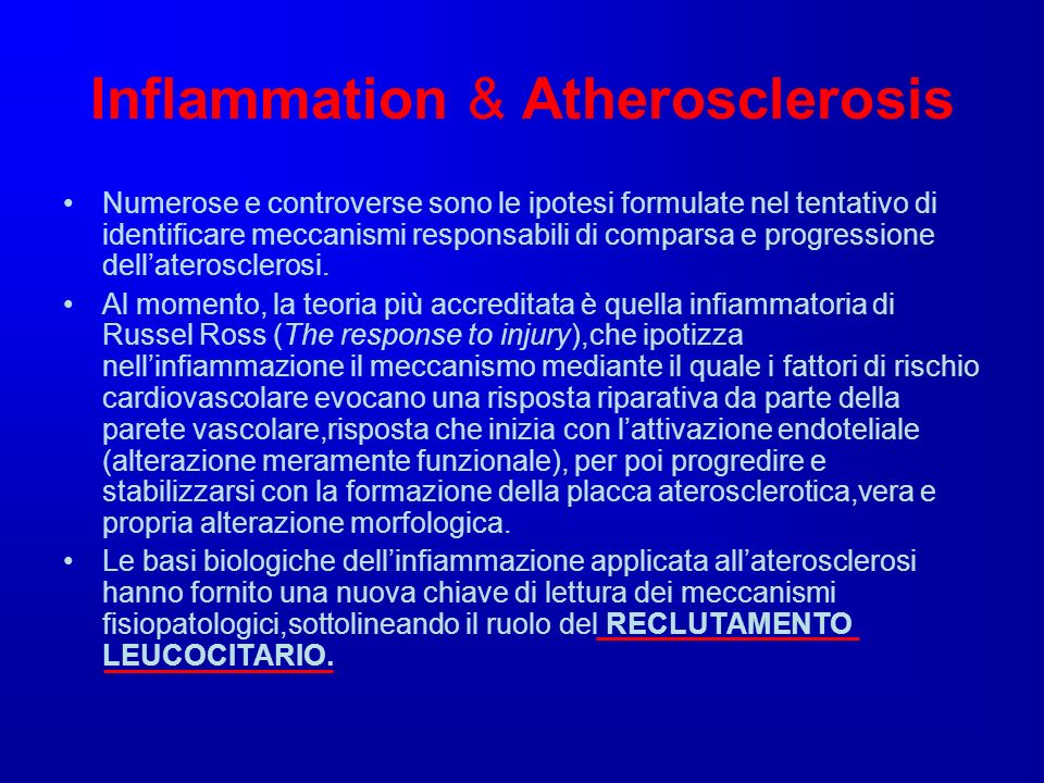 Inflammation & Atherosclerosis