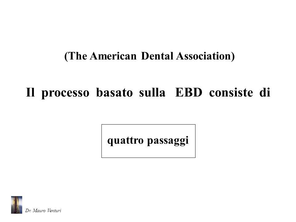 Il processo basato sulla EBD consiste di