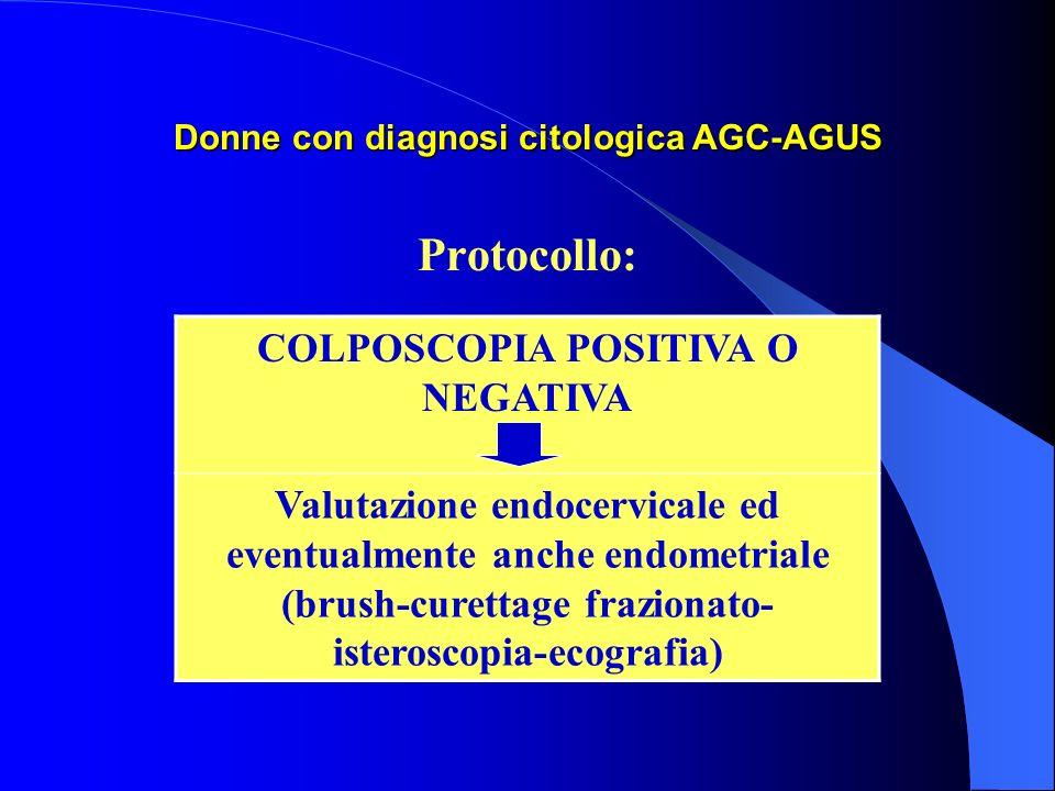 Donne con diagnosi citologica AGC-AGUS
