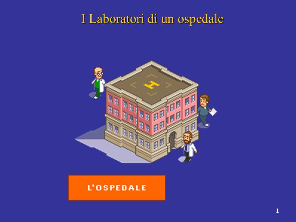 I Laboratori di un ospedale