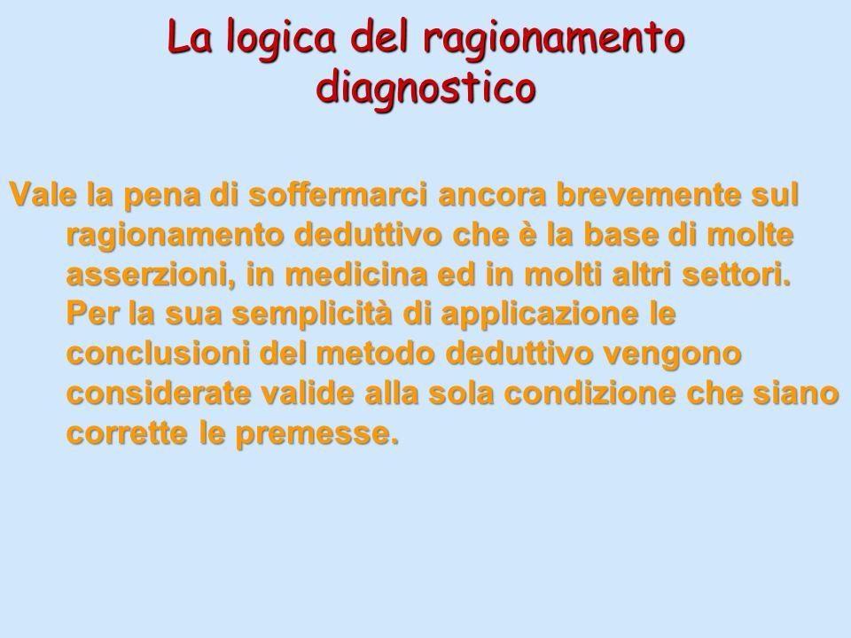 La logica del ragionamento diagnostico