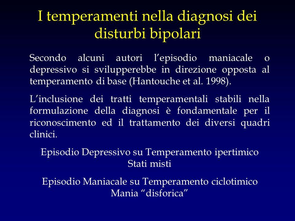 I temperamenti nella diagnosi dei disturbi bipolari