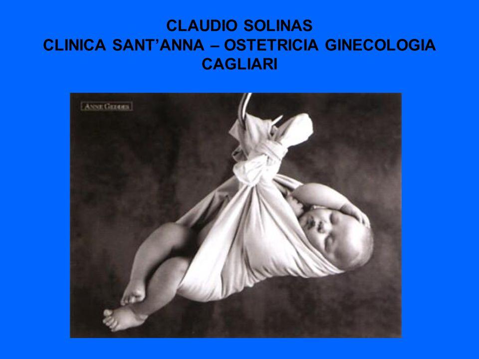 CLAUDIO SOLINAS CLINICA SANT'ANNA – OSTETRICIA GINECOLOGIA CAGLIARI