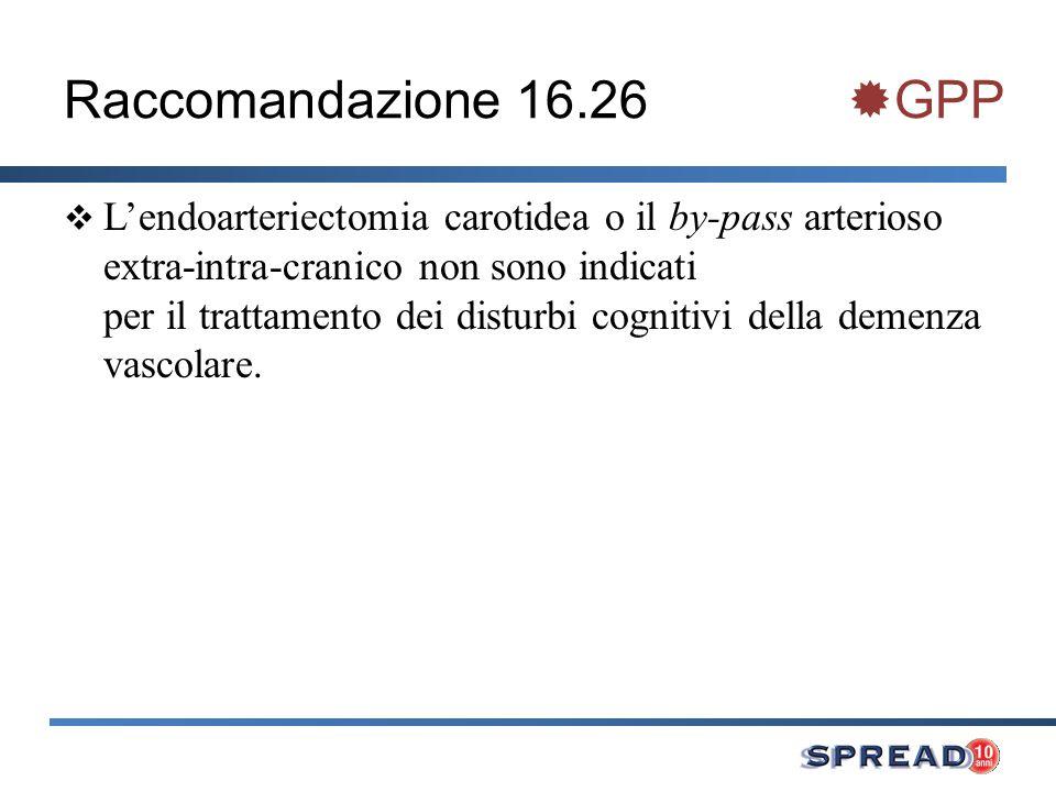 Raccomandazione 16.26 GPP