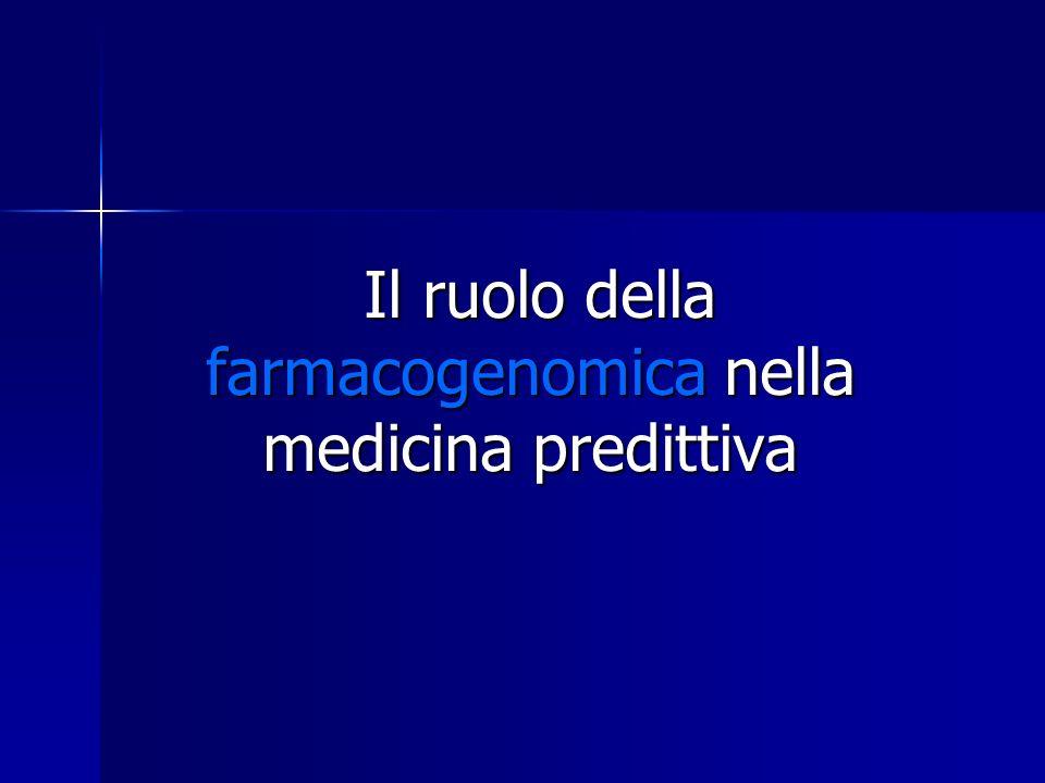 Il ruolo della farmacogenomica nella medicina predittiva