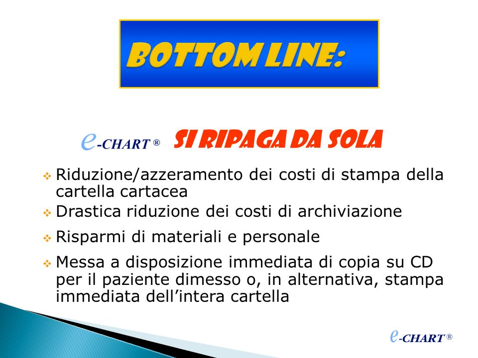 Bottom line: si ripaga da sola