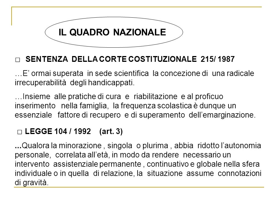 □ SENTENZA DELLA CORTE COSTITUZIONALE 215/ 1987