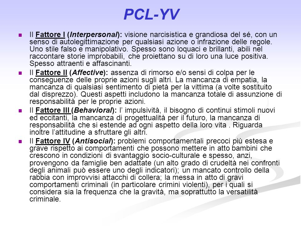 PCL-YV